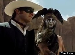 WATCH: The Lone Ranger Rides In