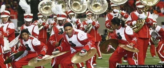 CLARK ATLANTA UNIVERSITY MARCHING PANTHERS