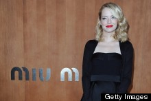 Beauty Queens: Amanda Seyfried, Dianna Agron and Emma Stone Hit The Miu Miu Front Frow