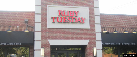 RUBY TUESDAY
