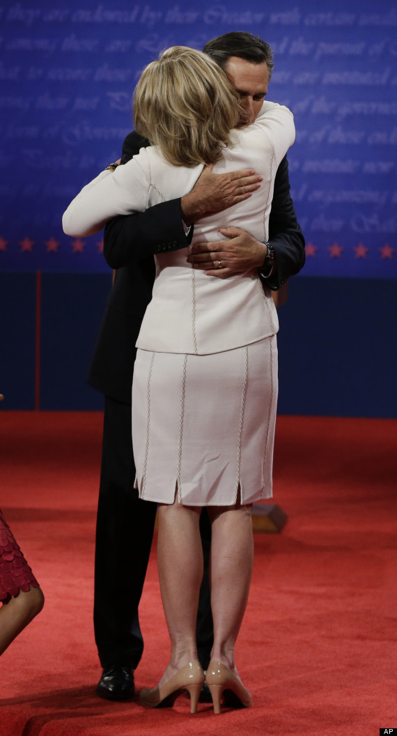 romney hug