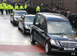 Thousands Gather In Manchester For Pc Fiona Bone Funeral