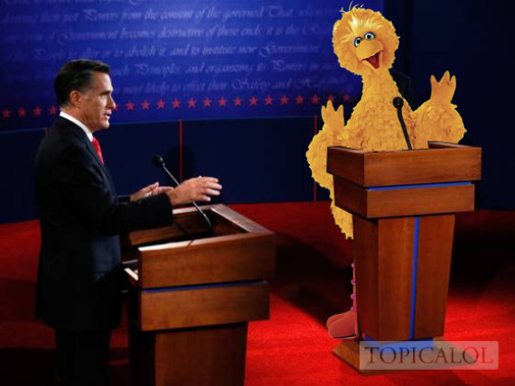big bird debate