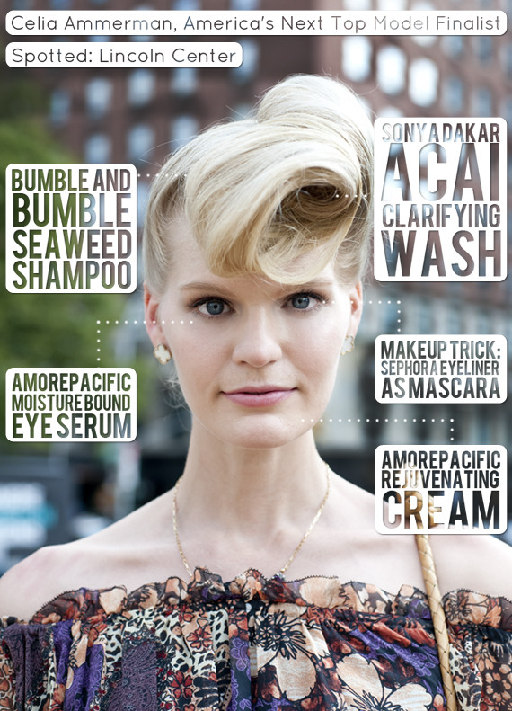 Beauty Street Style Celia Ammerman Former Antm Contestant