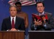 Jon Stewart, Stephen Colbert Do Debate Prep For The Rumble in the Air-Conditioned Auditorium (VIDEO)