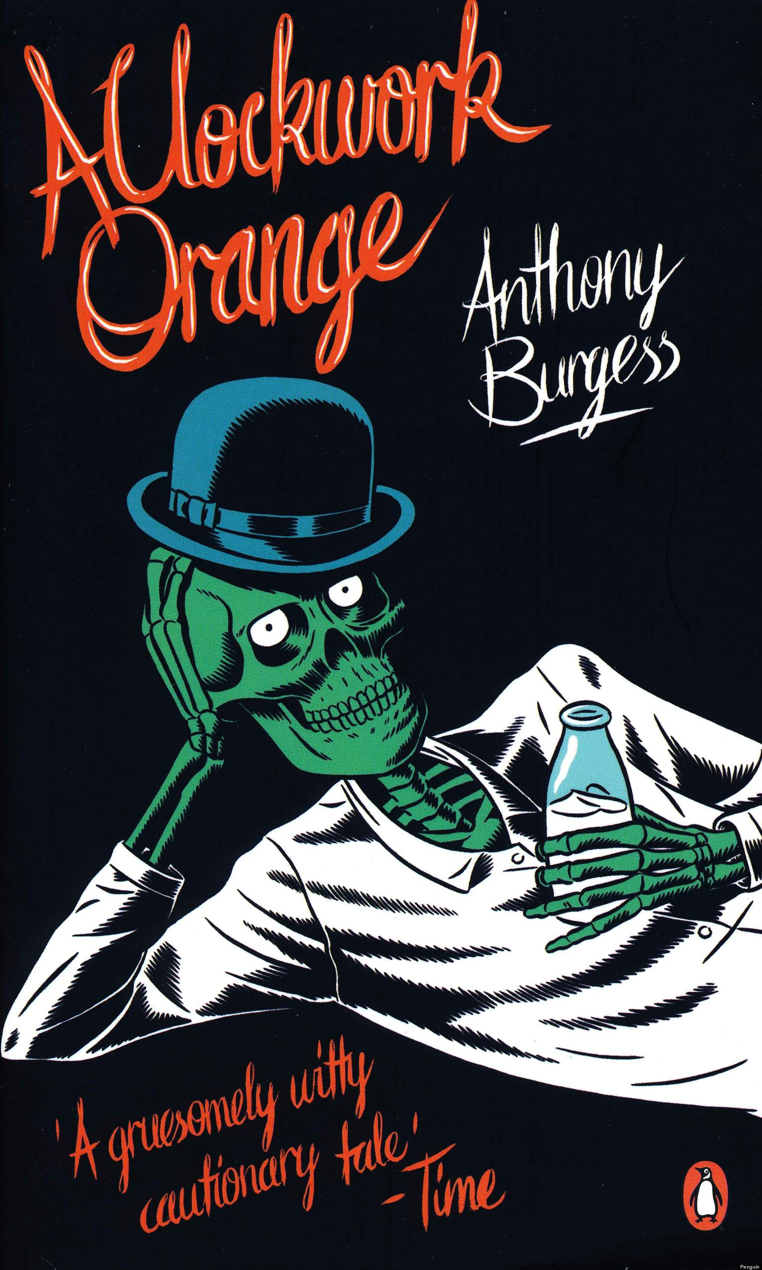 The manipulation in the novella a clockwork orange by anthony burgess