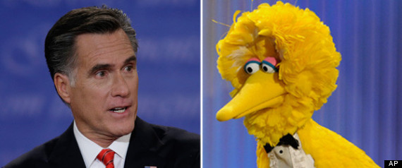 MITT ROMNEY BIG BIRD