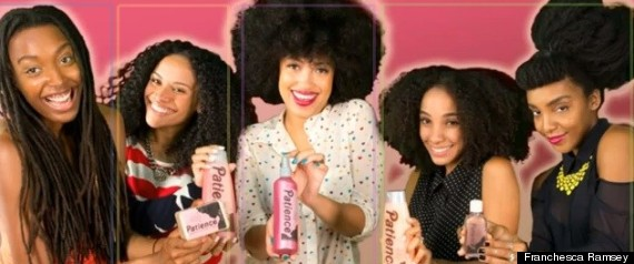 Natural Hair Video