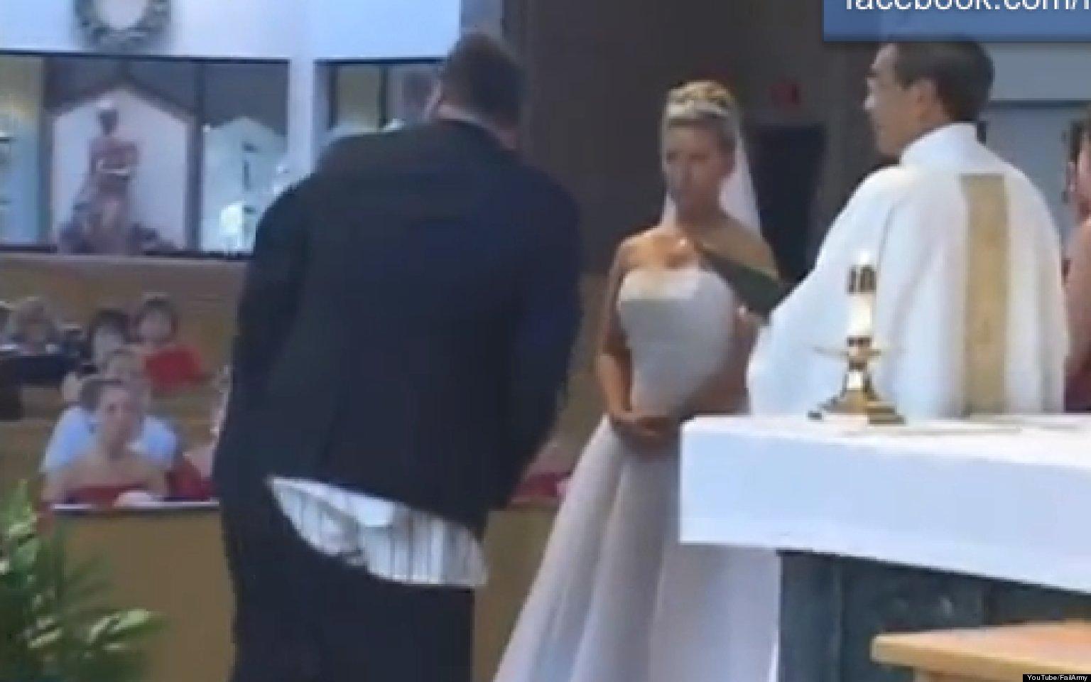 Senate Fail >> Wedding Fail 2012 Mashup From Fail Army Hits The Web (VIDEO)   HuffPost