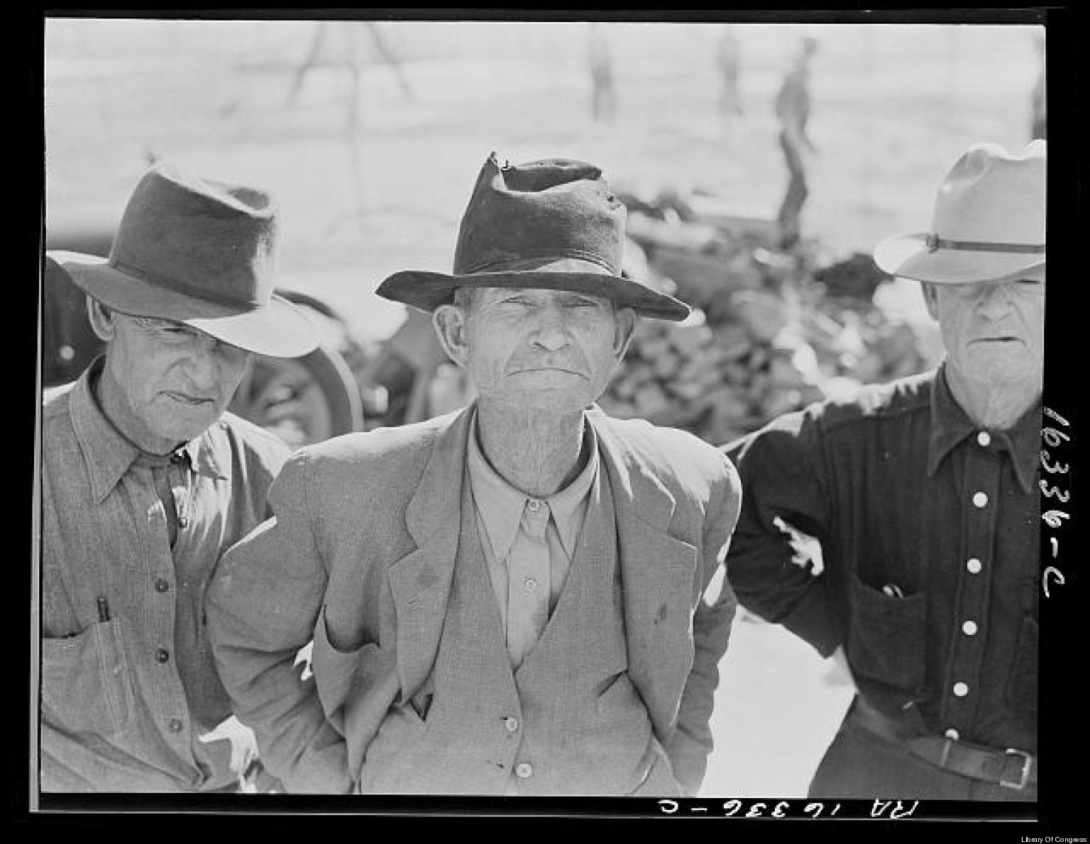 faces of the great depression photos the huffington post