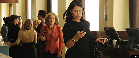 THE GOOD WIFE MAURA TIERNEY