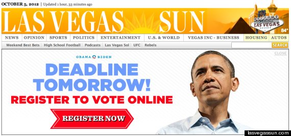 barack obama online advertising