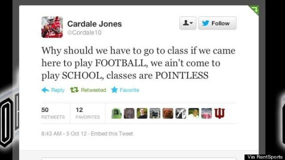 cardale jones twitter tweet