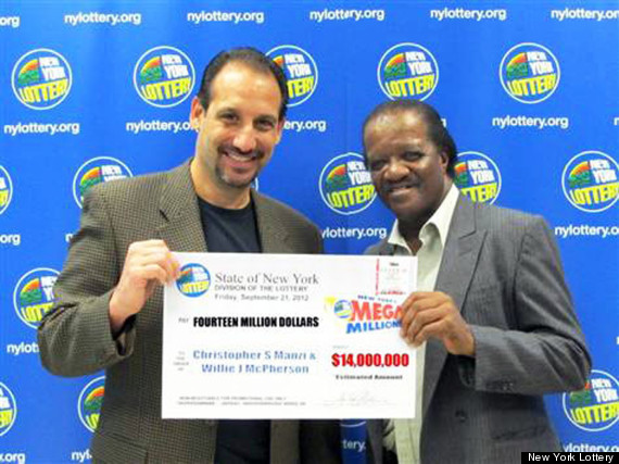 Willie Mcpherson And Christopher Manzi Win Mega Millions Jackpot After Playing Together For 25 Years Huffpost Life
