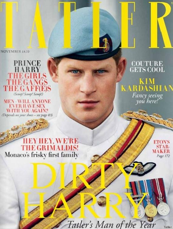 prince harry tatler