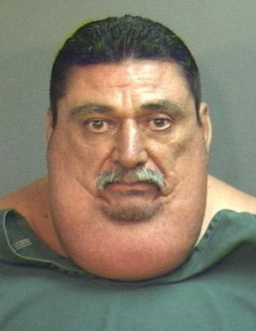Victor espinoza 425 pound gangster sentenced to 32 months in prison