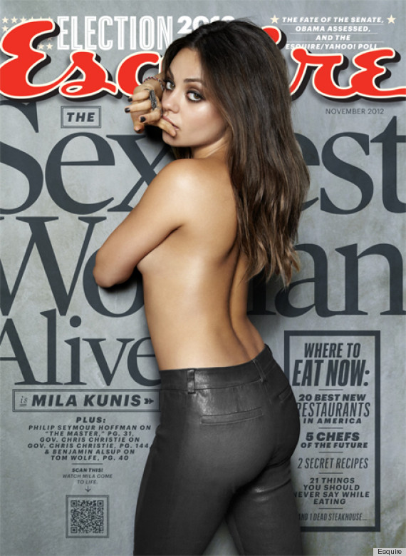 Mila Kunis Named Sexiest Woman Alive By Esquire Magazine (PHOTO)