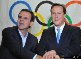 Brésil: l'homme des Jeux olympiques 2016