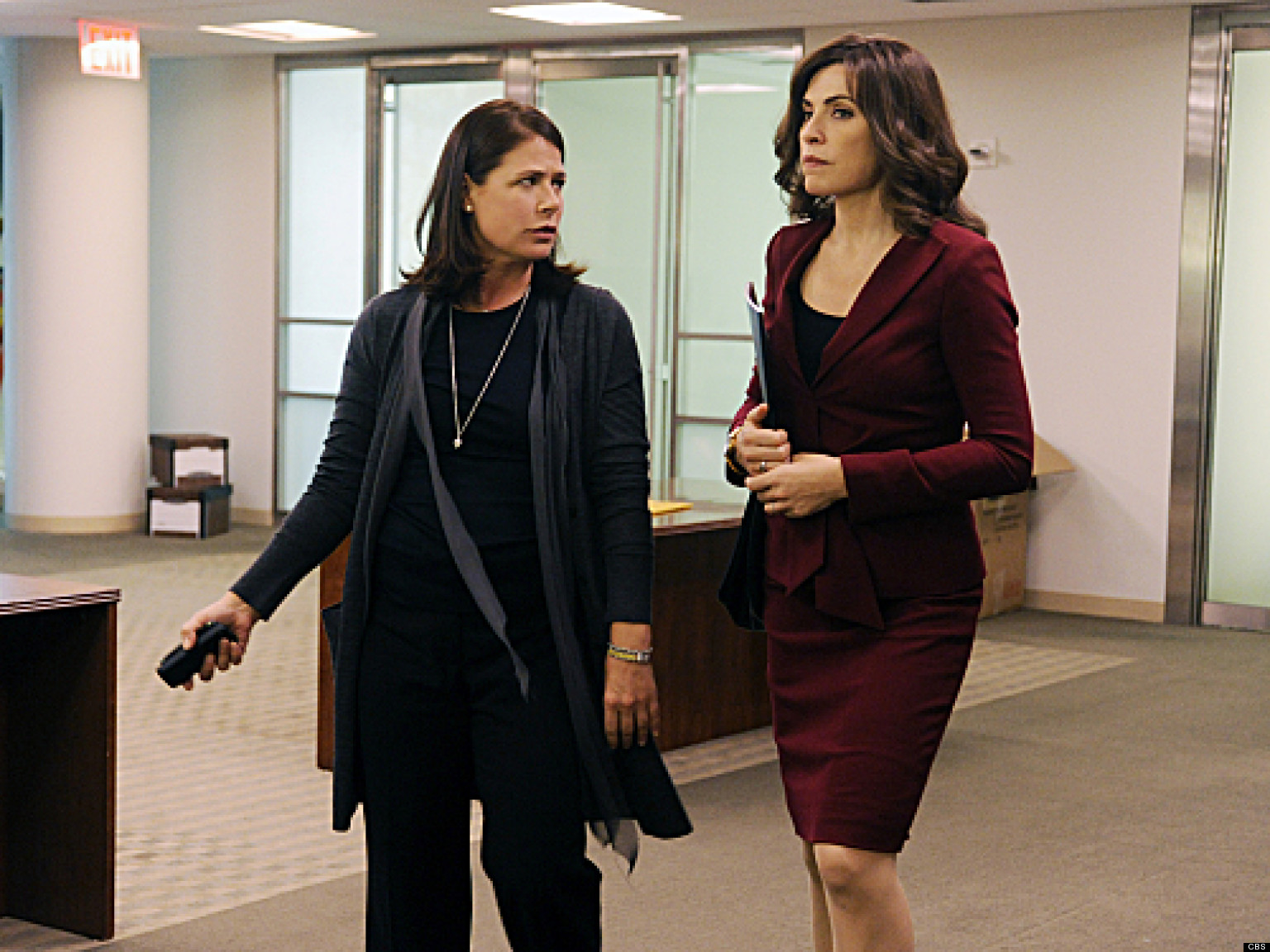 Maura Tierney on the good wife