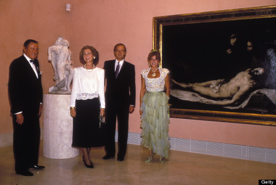 foto inauguración museo thyssen