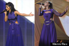 Style Snap! Purple Cut-Out Gowns Are In (According To Cheryl And Leona)