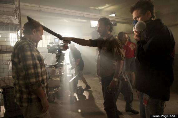 the walki dead season 3 behind the scenes
