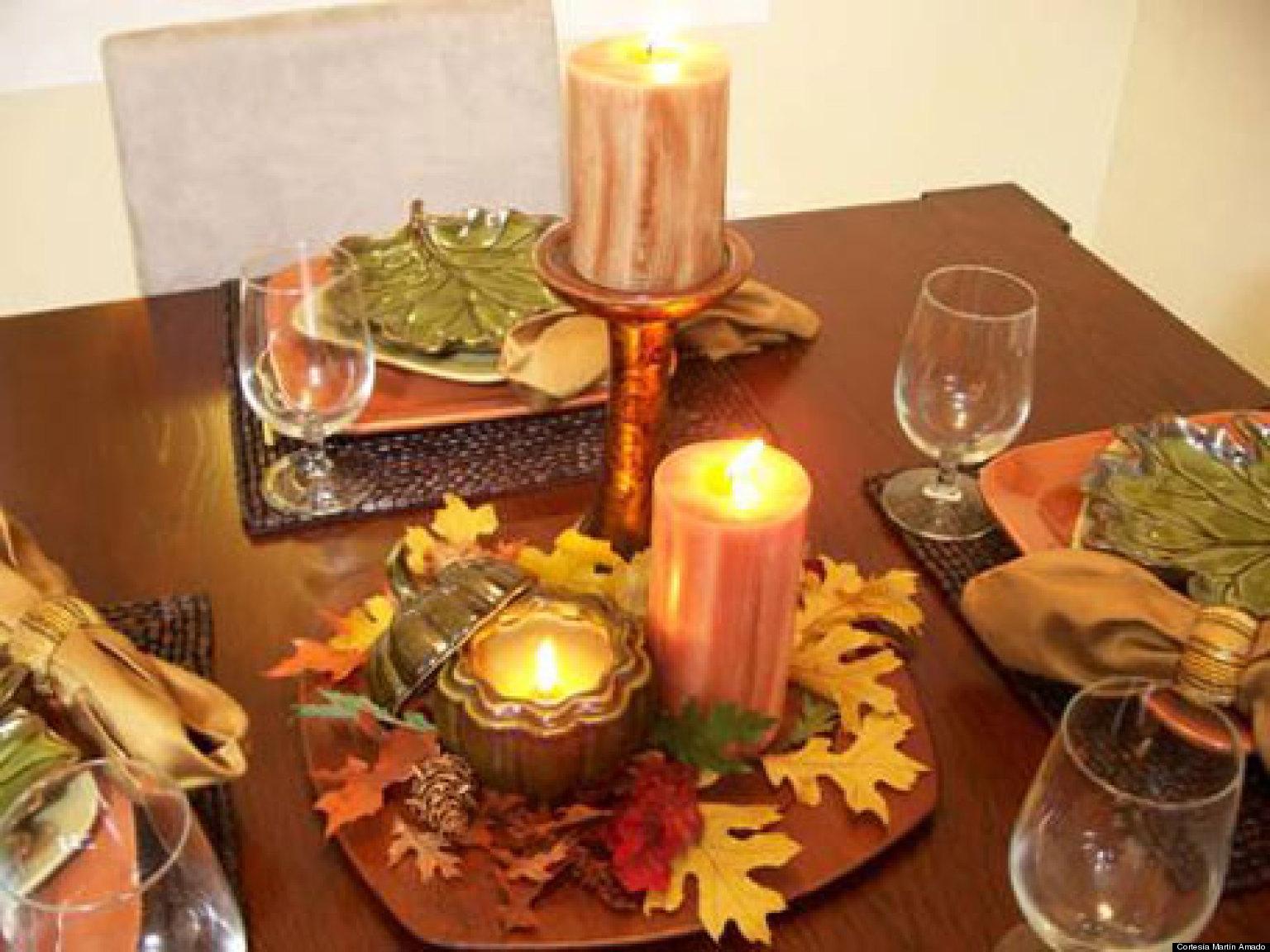 Centro de mesa para la poca de oto o en 5 pasos huffpost for Manualidades rusticas para el hogar