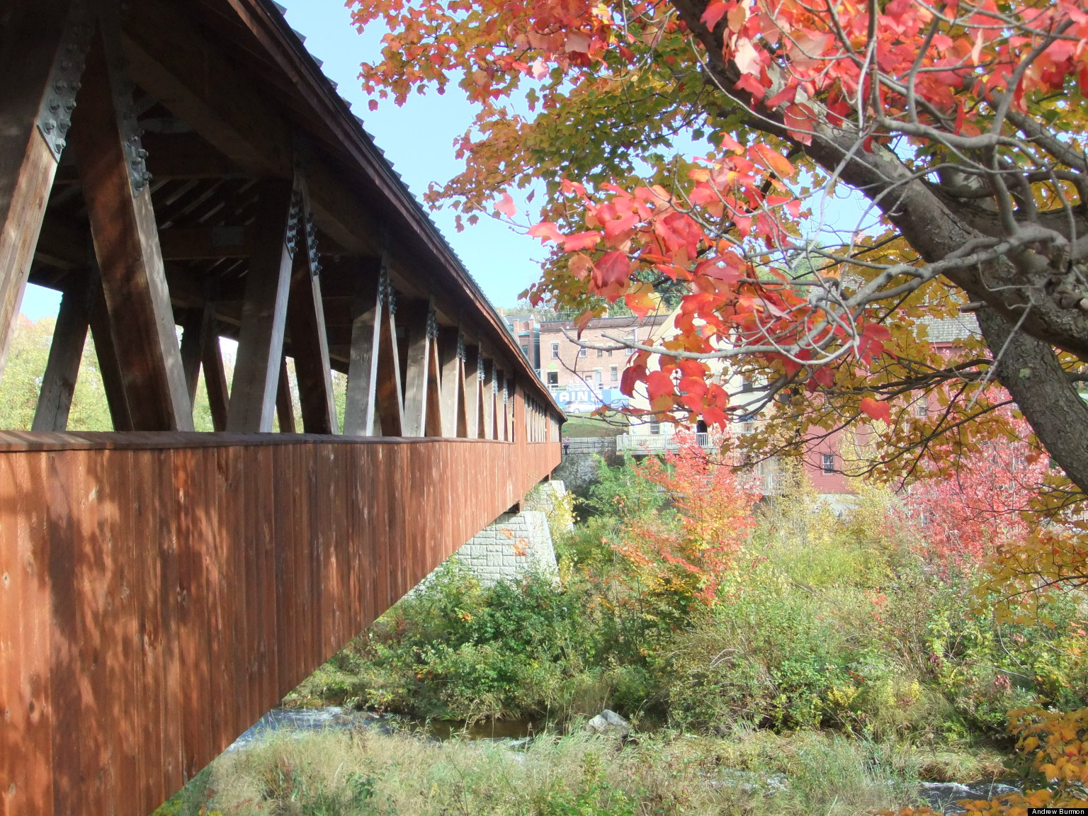 This Tour of New Hampshire's Covered Bridges Will Charm You |New England Covered Bridges Tour
