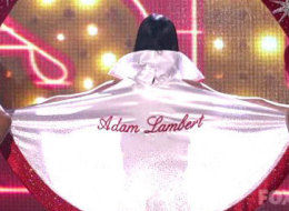 Katy Perry Adam Lambert Cape