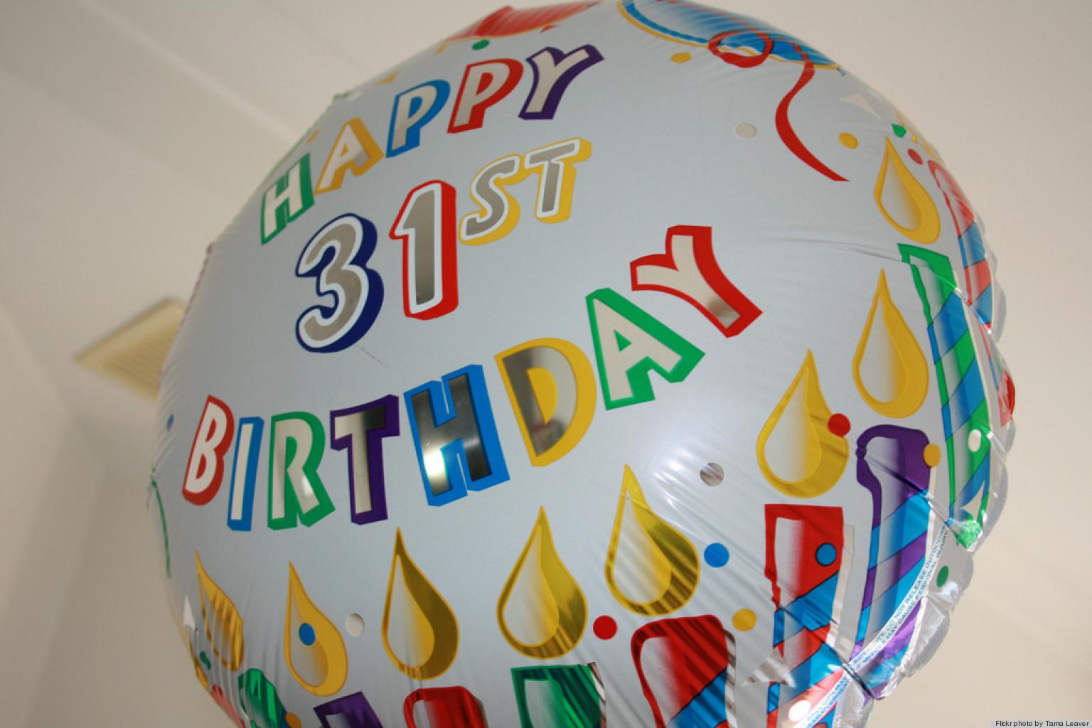 Поздравления с днем рождения парню на 31 год