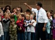 Mitt Romney Embraces Retail Politics As Town Hall Debate Approaches