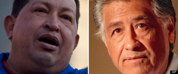 HUGO CHAVEZ CESAR CHAVEZ