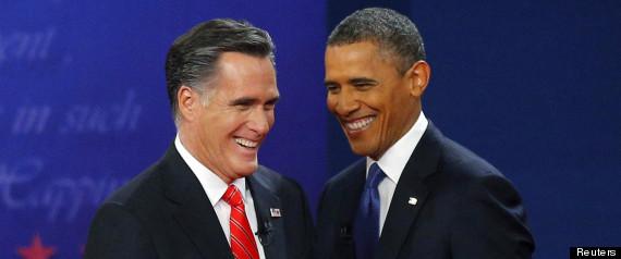 Sondages Obama Romney
