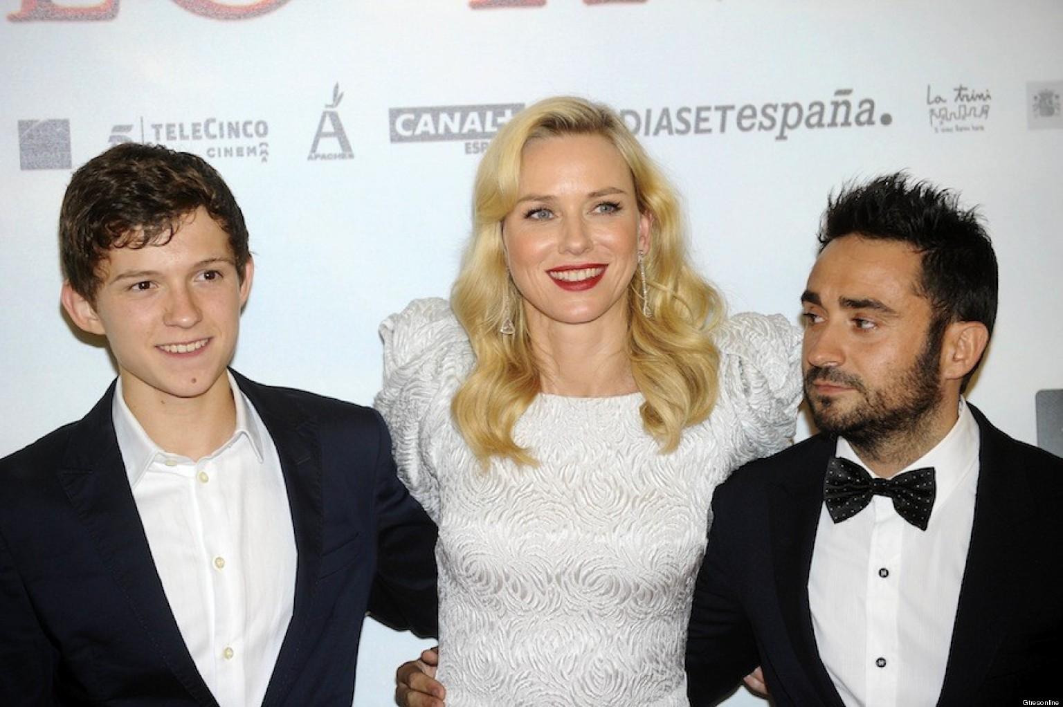 Alfombra roja de 'Lo imposible' en Madrid: Naomi Watts ...