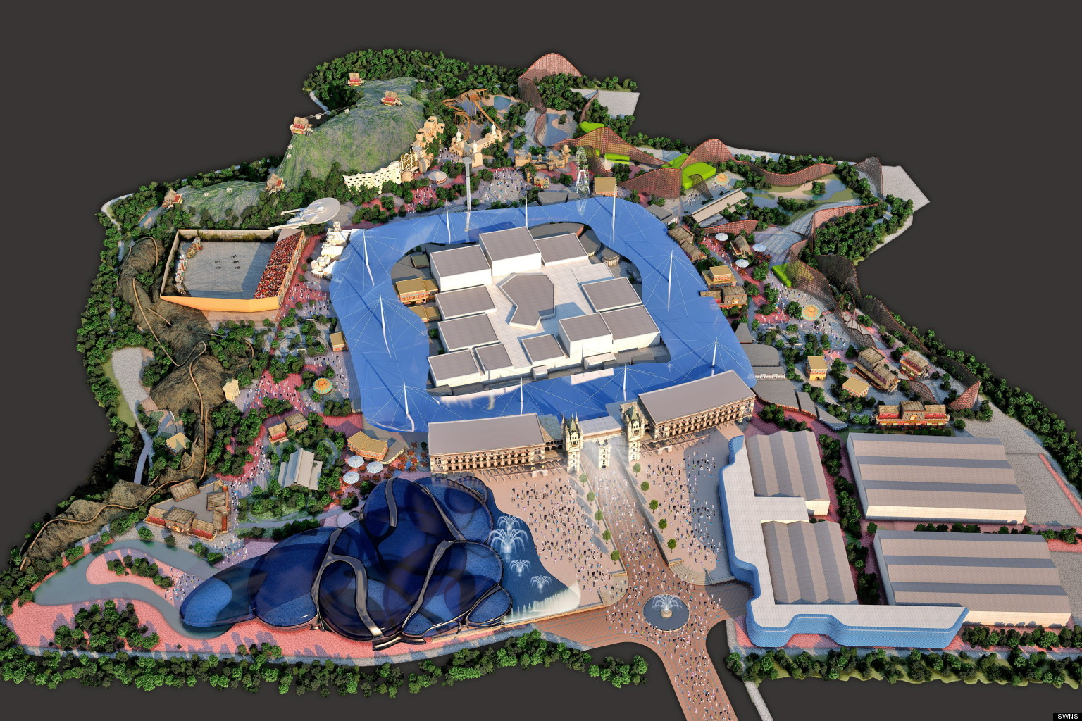Paramount Pictures Park In England Could Rival Disneyland