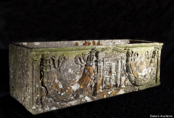 roman marble coffin