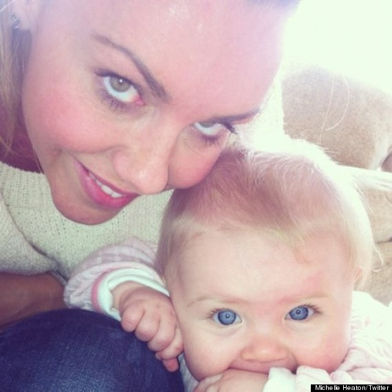 michelle heaton faith
