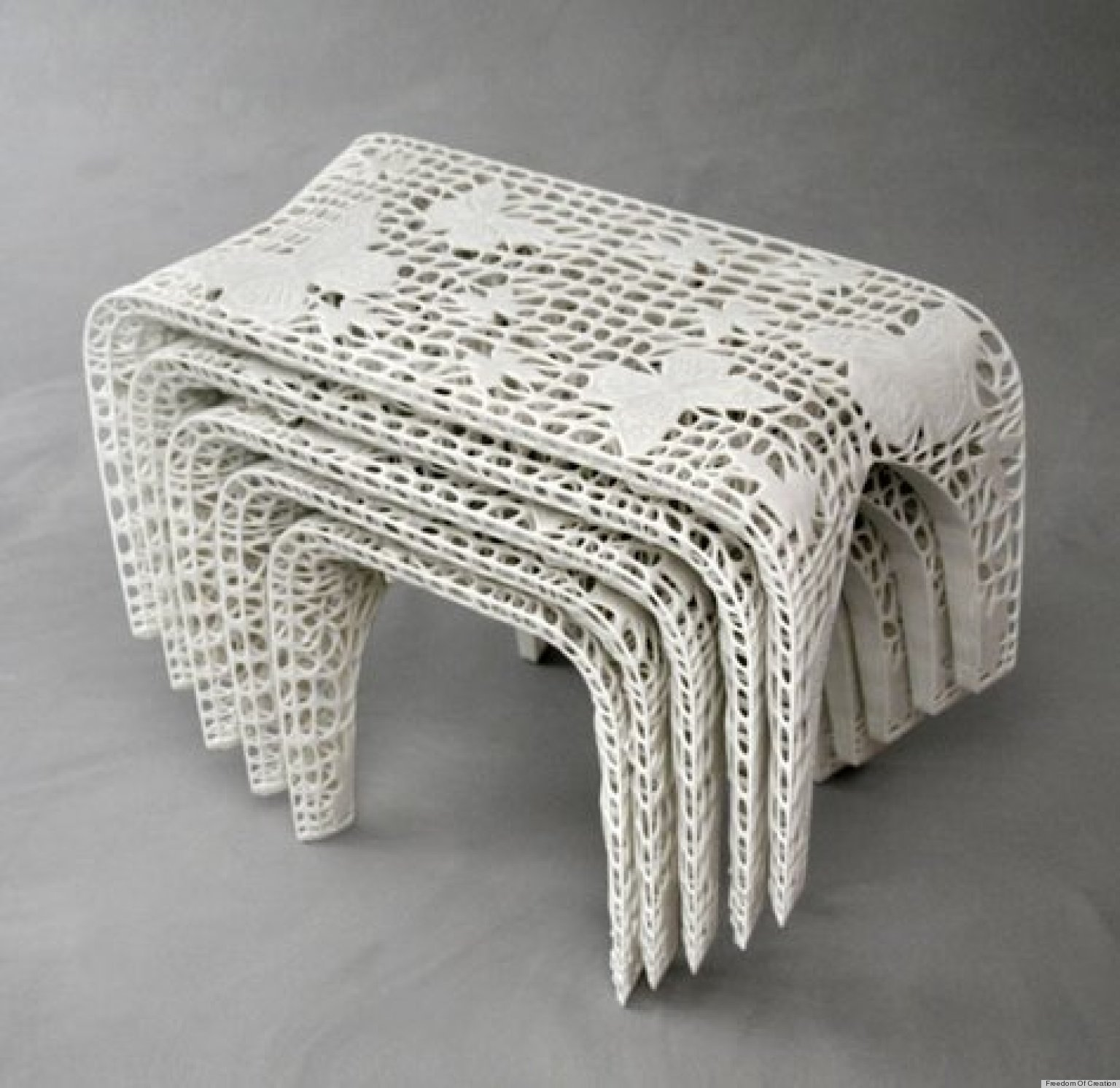 3d printing cool home decor and furniture designs on the for Furniture 3d printer