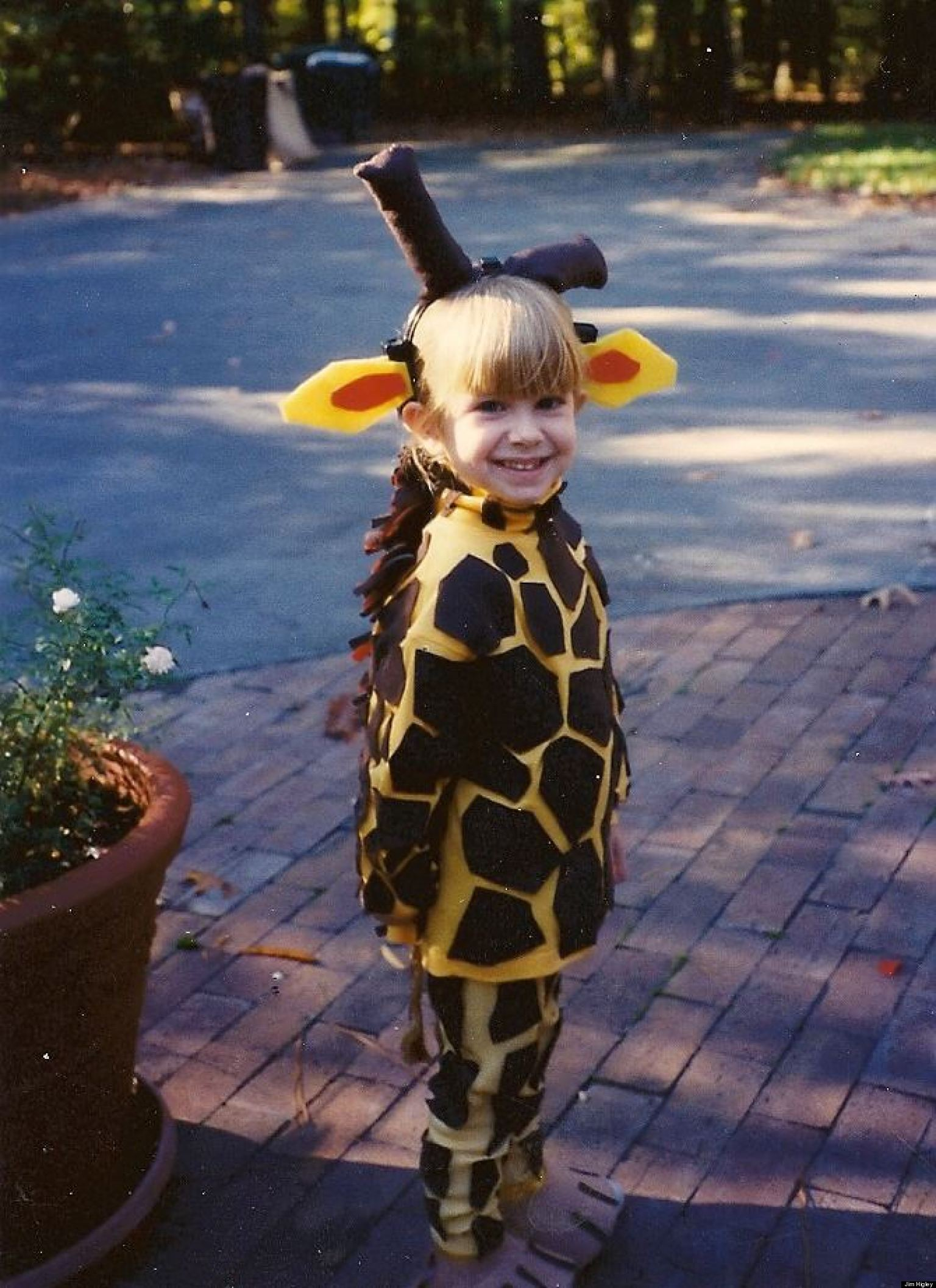 My Giraffe Gaffe: Surviving Homemade Halloween Costumes
