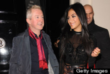 Nicole Scherzinger Co-Ordinates With Louis Walsh On X Factor Night Out