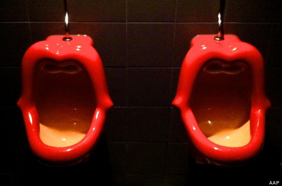 lip urinals