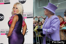 Prettiest In Purple: QE2 vs Xtina