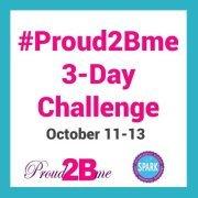proud2bme challenge