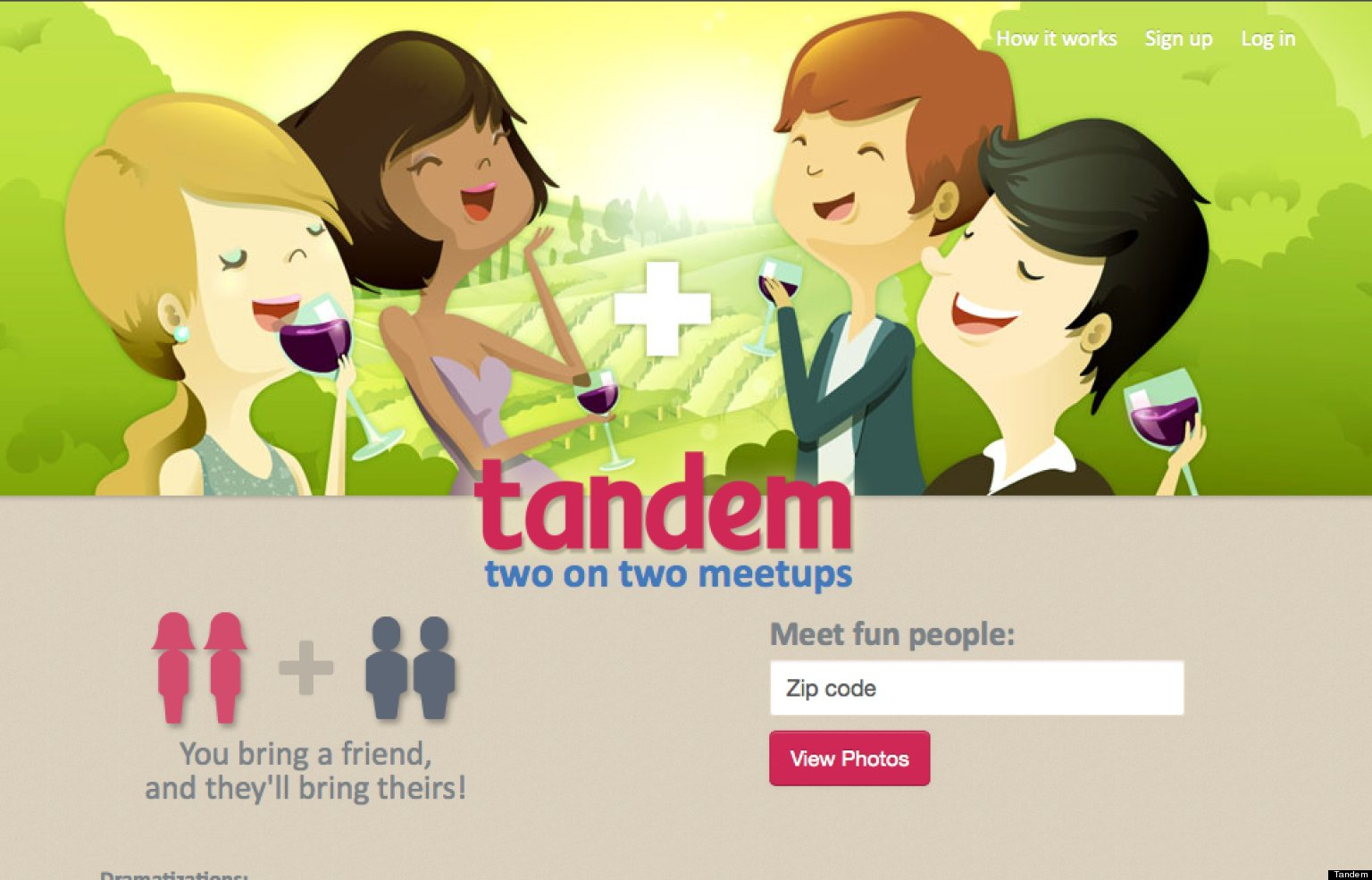 Tandem dating site in usa