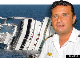 Captain Francesco Schettino Costa Concordia