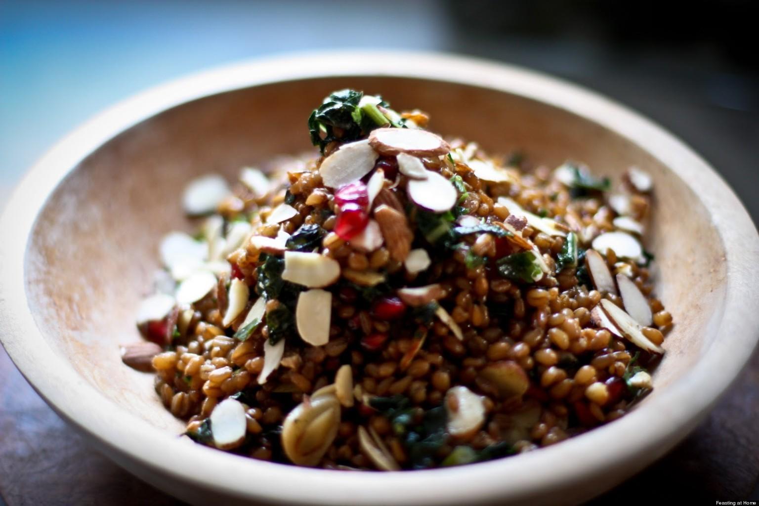 how to cook farro grain