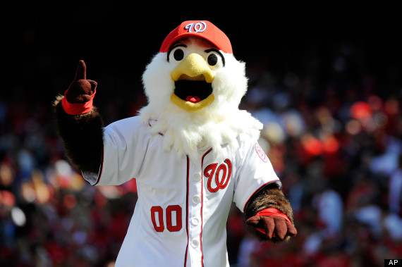 nationals mascot