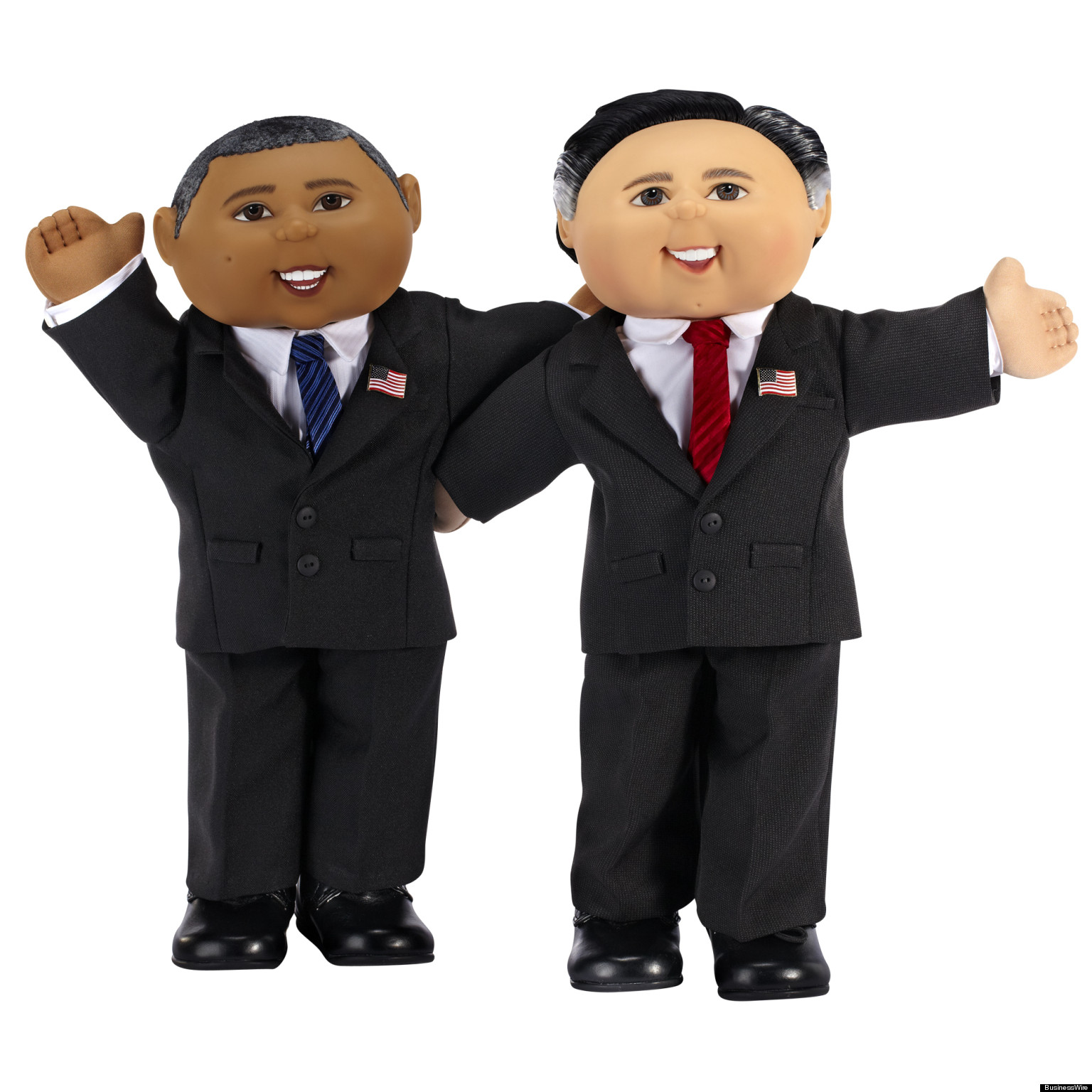 Barack obama and michelle obama as cabbage patch dolls | crazy.