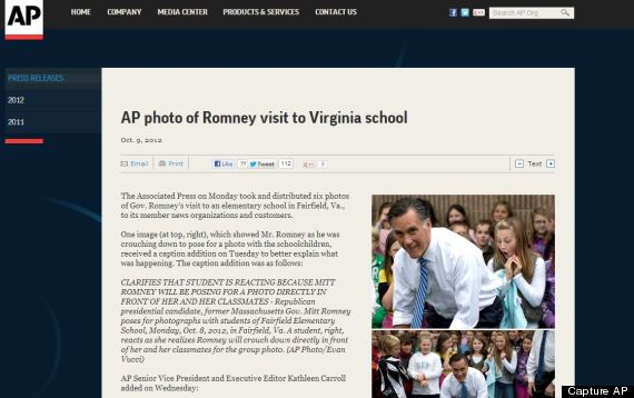capture ap romney