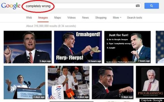 romney google bombing